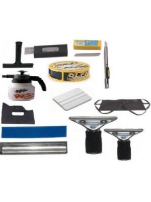 Flat Glass Tint Tools - Pro Package 2-4 Mil