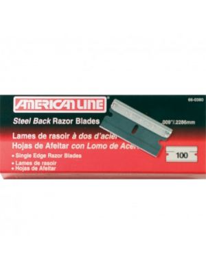 Single Edge Razor Blade (100 Pack)